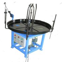 China Blue Painting Wire Decoiler Auxilliary Equipment For Spring Machine 200kg Loading wholesale