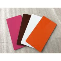 Quality Various Colors ACP Aluminium Sheet High Intensity With Weather Resistance  for sale