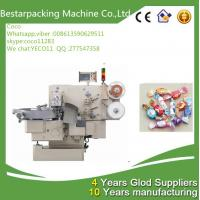 Quality Double twist chocolate ball wrapping machine with auto hopper for sale