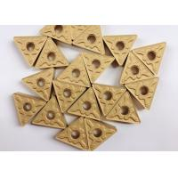 Buy cheap Indexable Triangle Carbide Turning Inserts RK7026 TNMG160408 TM Yellow Color from wholesalers