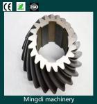 China customed nonstandard forging steel bevel gearwheel wholesale