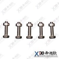 China Hastelloy B2 China hardware stainless steel hex bolt with nut wholesale