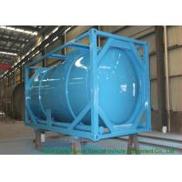 China 20 Feet ISO Wast Water Tank Container For Bulk Liquid 20000L Optional PE Lined wholesale