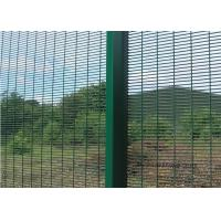 Quality Welding Steel Wire Fencing Anti Cut and Climb 358 High Security Fence For Boundary Wall for sale