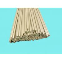 China Chemical Resistance PEEK Rods Khaki For Bushes / Metering Pumps wholesale