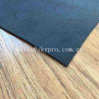 China 1mm Black Waterproofing Neoprene Fabric Roll For Inflatable Boat Raincoat Rubberized Cloth wholesale