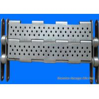 China Punching Chain Plate Conveyor , Customized Design Steel Plate Conveyor wholesale
