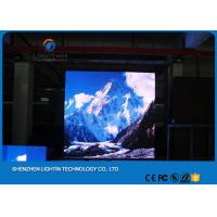China Micro P4 Indoor Advertisement Display Screen With Aluminum Cabinet , 1 / 16 Scan on sale