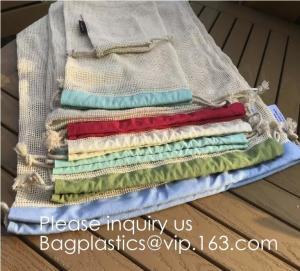 Buy cheap Portable/Reusable/Washable Cotton Mesh String Organic Organizer Shopping Handbag from wholesalers
