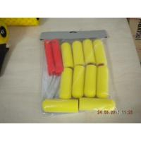 China Colorful Plastic Handle Sponge Paint Roller , Decorative Paint Rollers For Walls wholesale