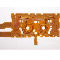 China Double Sided Flexible PCB With Polyester Material Copper Thickness 0.15mm CE Rohs Compliant  With One Stop PCB Solution wholesale