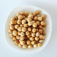 China Healthy Snacks High Nutrition Roasted Chickpeas Salted / Black Pepper Flavor wholesale