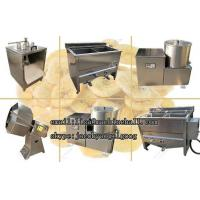 China Plantain Chips Frying Machine Line|Banana Chips Processing Line Suppliers on sale