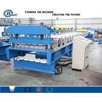 Quality PLC Control Commercial Rolling Form Machine For Metal Roofing Panel for sale