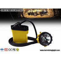 China Explosion Proof Mining Hard Hat Led Lights 25000 Lux Strong Brightness Corded Style wholesale