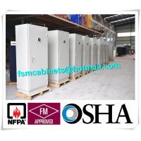 China Metal Fire Safe File Cabinets , Fireproof Storage Cupboards Moisture Proof wholesale