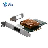Buy cheap Gigabit dual Port RJ45 Intel I350 PCIe x8 Compatible Optical Network Card from wholesalers