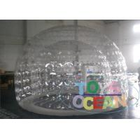 China Small Clear Inflatable Bubble Camping Tent For Outdoor Using wholesale
