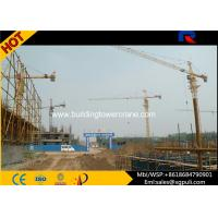 Quality QTZ5613 8T Lifting Load Building Tower Crane Jib Length 13.36m With Remote for sale