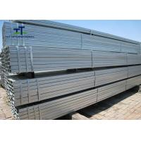 China Cold Rolled Galvanized Steel Square Tubing Standard Q355 130x130 For Solar Energy System on sale