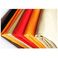 China Twill Colorful 100% Cotton Wrinkle Proof Fabric For Uniform , Various Colors wholesale