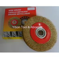 China 4'' Good quality Crimp Steel Wire Brush wholesale