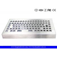 Buy cheap Waterproof Industrial Keyboard Stainless Steel USB / PS/2 Interface For Marine Industry from wholesalers