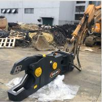China Customized Color Metal Hydraulic Shear For Cuting Scrap Car And Steel Made In China wholesale