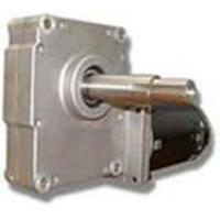 China Die Casting Worm Wheel Geared Dc Motors With Mcp2 Brake Removable Brush Bronze Worm Wheel Material wholesale