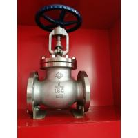 China SS304 PN16 1 Inch Water Globe Valve Flange Ends Regulating ANSI Standard on sale