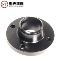 China Metric Industrial Pipe Adapter Collar Dn15 Pipe Plate Flange 6 Hole PN6 on sale