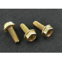 Phillips Drive Hex Washer Head Thread Forming Screws For Metal Sheets Carbon Steel Zinc  Finish