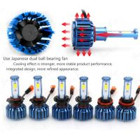 Buy cheap COB Chip Car LED Headlights C2- H4 9004 9007 H13  For Offroad SUV 3200 Lumens from wholesalers