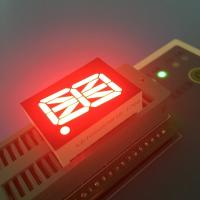 "China Single Digit 0.8"" AlphaNumeric Led Display Super Bright Red For Instrument Panel wholesale"