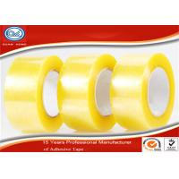 China Transparent BOPP Adhesive Packaging Tape , Commercial Grade Heavy Duty Packing Tape wholesale