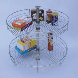 360 degree corner turning basket kitchen accessories