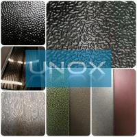 China New Pattern Etched Stainless Steel Decoration Sheets-Unox Color Stainless Steel Sheets wholesale