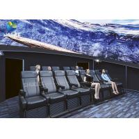 China Dome Special Buildings 3D Movie Cinema Curved Screen Immersive Cinema With 4D Motion Seats wholesale