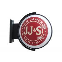 China Round D50cm  Lighted Pub Sign Rotating / Club Sign / Beer rotating Sign wholesale