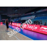 China Perimeter sports led display Indoor / Stadium Advertising outdoor led screen rental Boards wholesale
