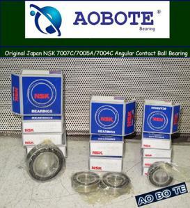 China Original Japan NSK 7007C/7005A/7004C Angular Contact Ball Bearing    wholesale