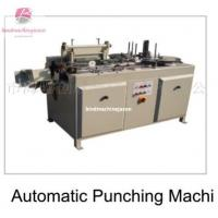 Quality Automatic Creative brand paper hole punching machine SPA320 for print house for sale