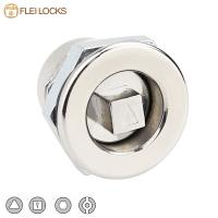 China Industrial Hardware Quarter Turn Cam Lock 20*20 Size For Electric Cabinet wholesale