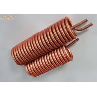 China Customized Flexible Copper Tube Coil in Domestic Water Boilers wholesale