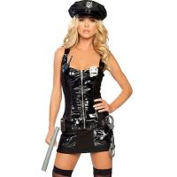 China High Quality Halloween Sexy Police Costumes Protect and Serve Police Costume wholesale