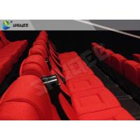 China 3D Cinema System 3D Stereo Movie Real Leather Motion Chair wholesale