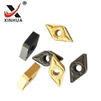 Quality Gold Tungsten Carbide Turning Inserts , Cemented Carbide Inserts DNMG150608 for sale