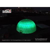 China Event Geodesic Dome Tent with Projection Screen with Aluminum  Frame wholesale