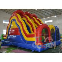 China Backyard Fun Water Slide Bounce House Portable  Waterproof Outdoor For Adults wholesale