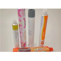 Buy cheap Colorful Squeeze Aluminum Cosmetic Tubes For Hand Cream / Face Ointment from wholesalers